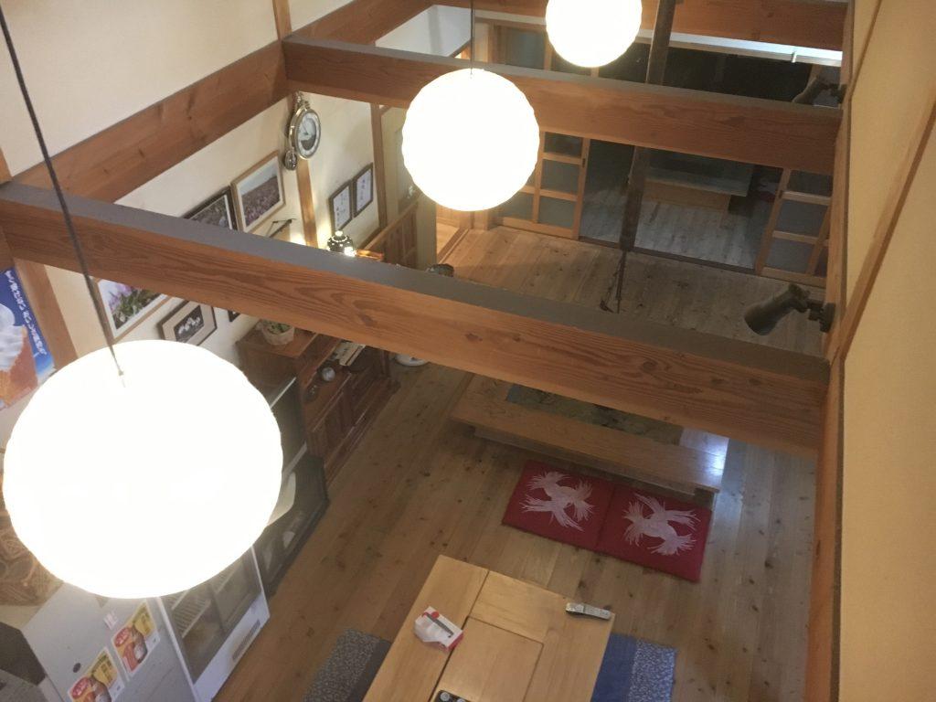 二階からの眺め