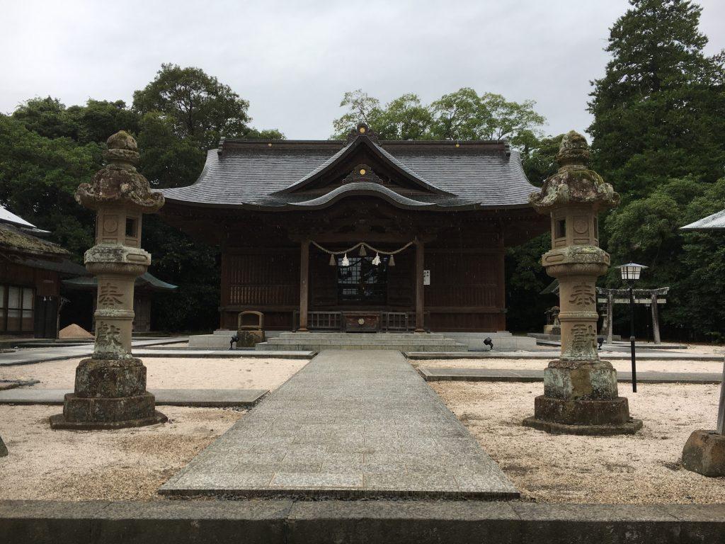 松江神社の本社