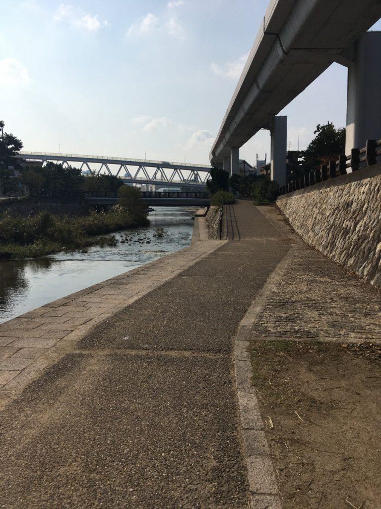 河口の折り返し地点