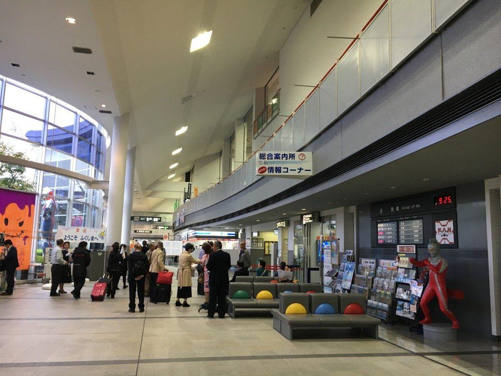 福島空港ロビー