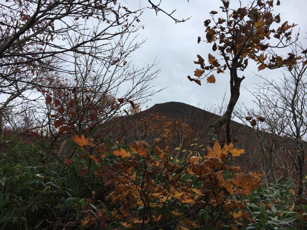 磐梯山頂上付近