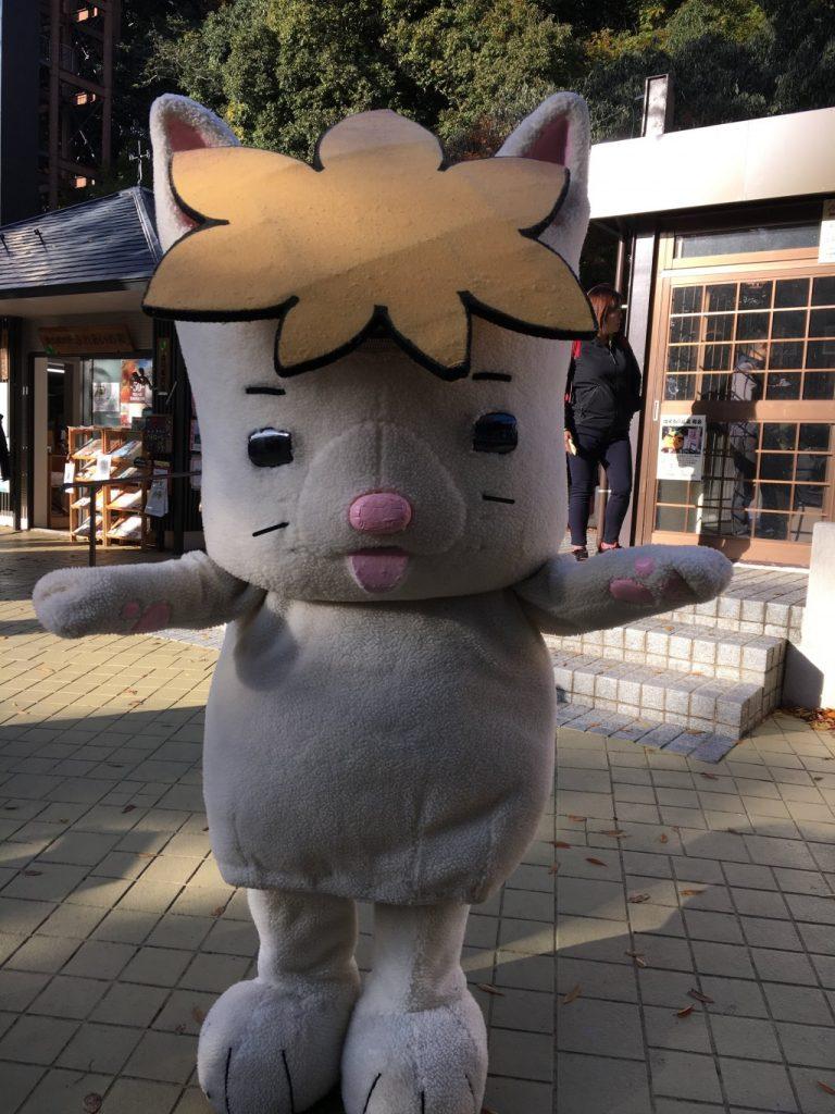 箕面市のキャラクターモミジーヌ