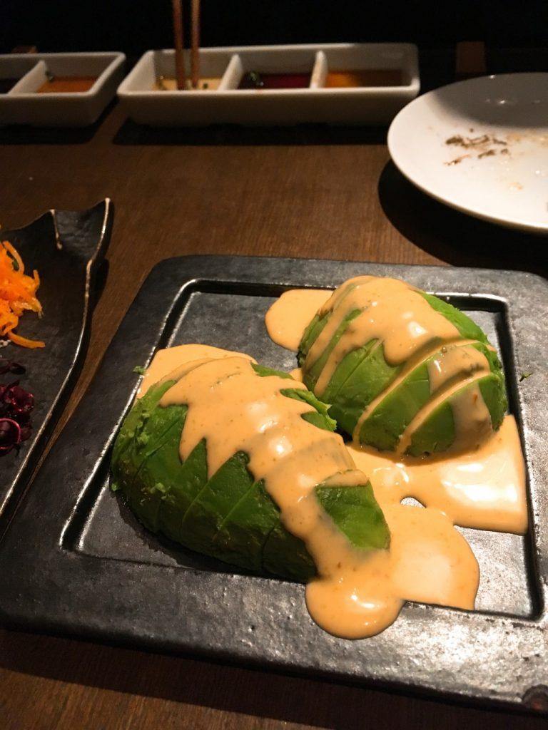 焼き野菜アボカド