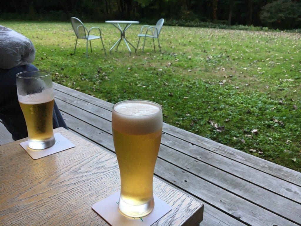 湯上がりビール