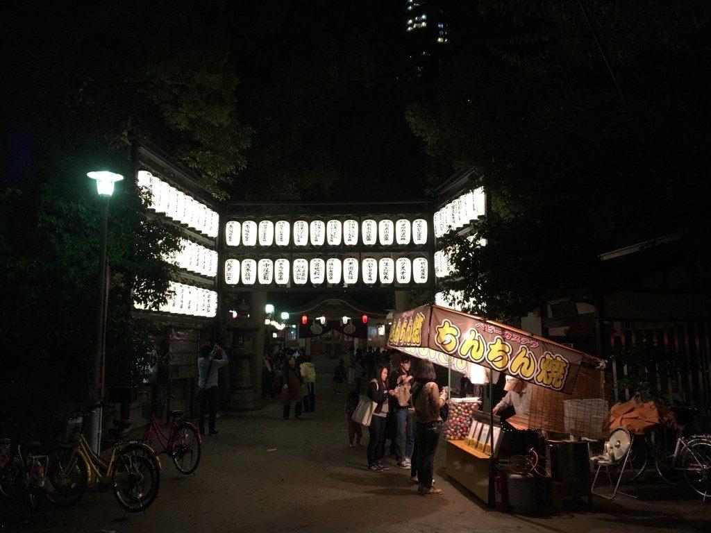 素盞烏尊神社 (浦江八坂神社)の提灯