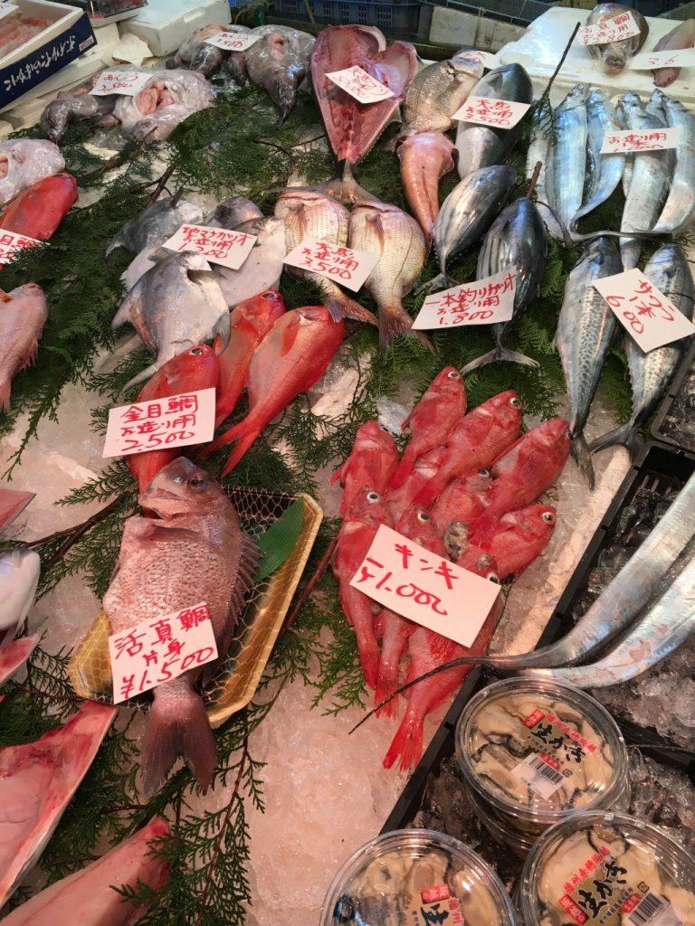 キンキ・金目鯛など