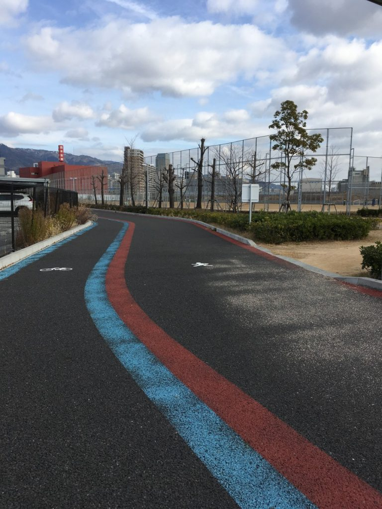 小野浜公園ランニングコース2