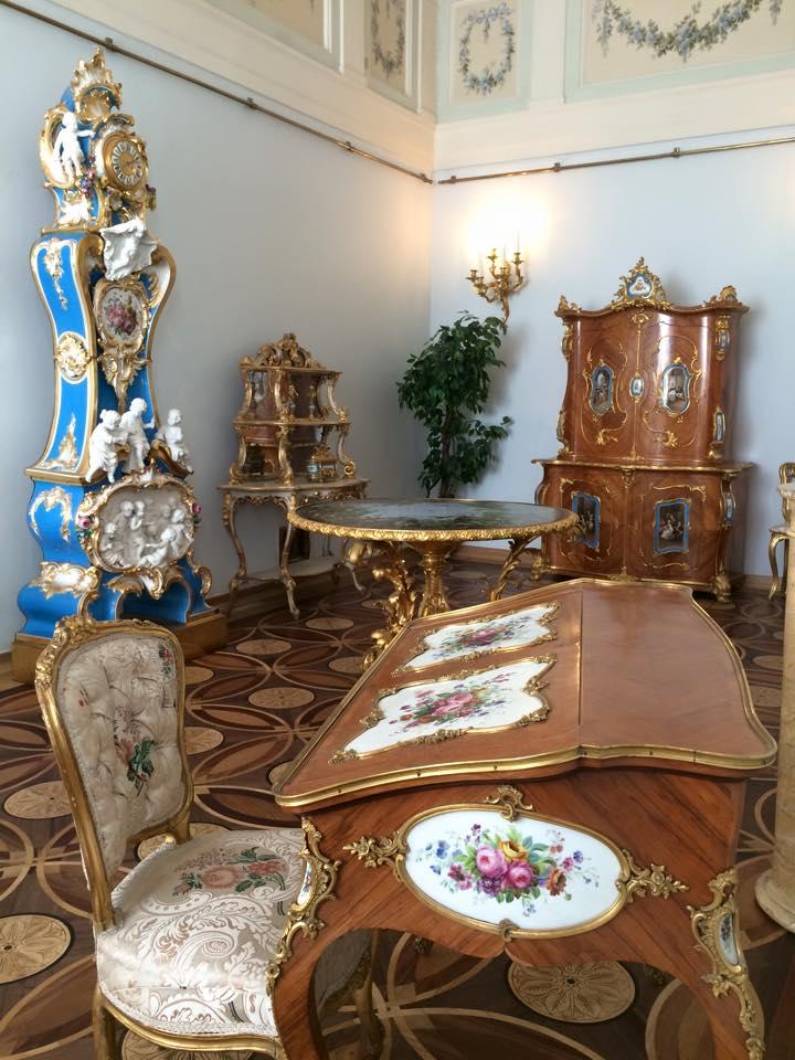 王族が使用した家具