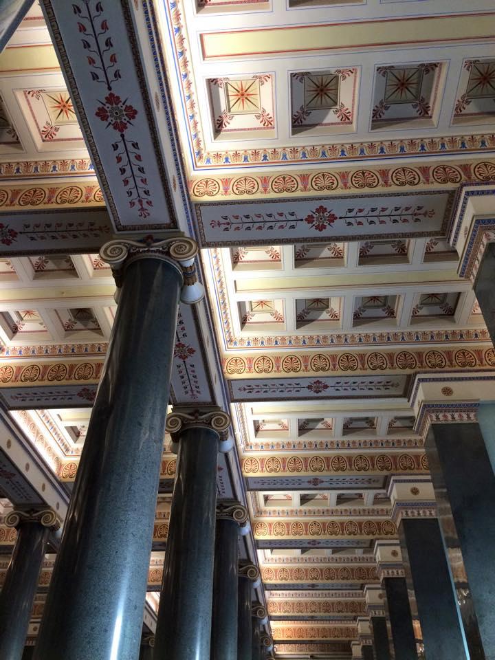 天井のペインティング