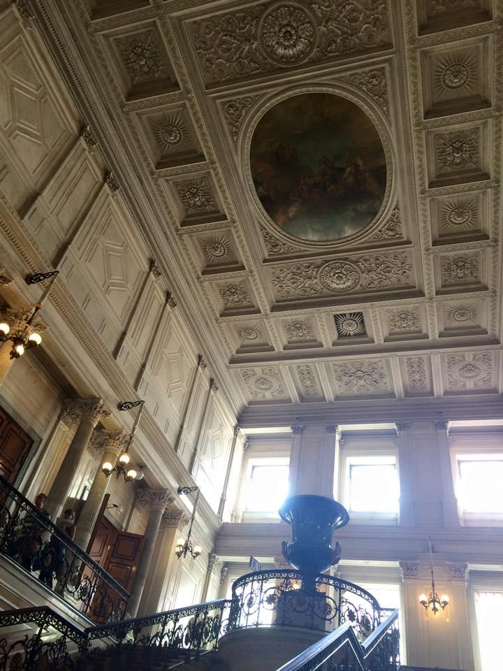 踊り場と天井