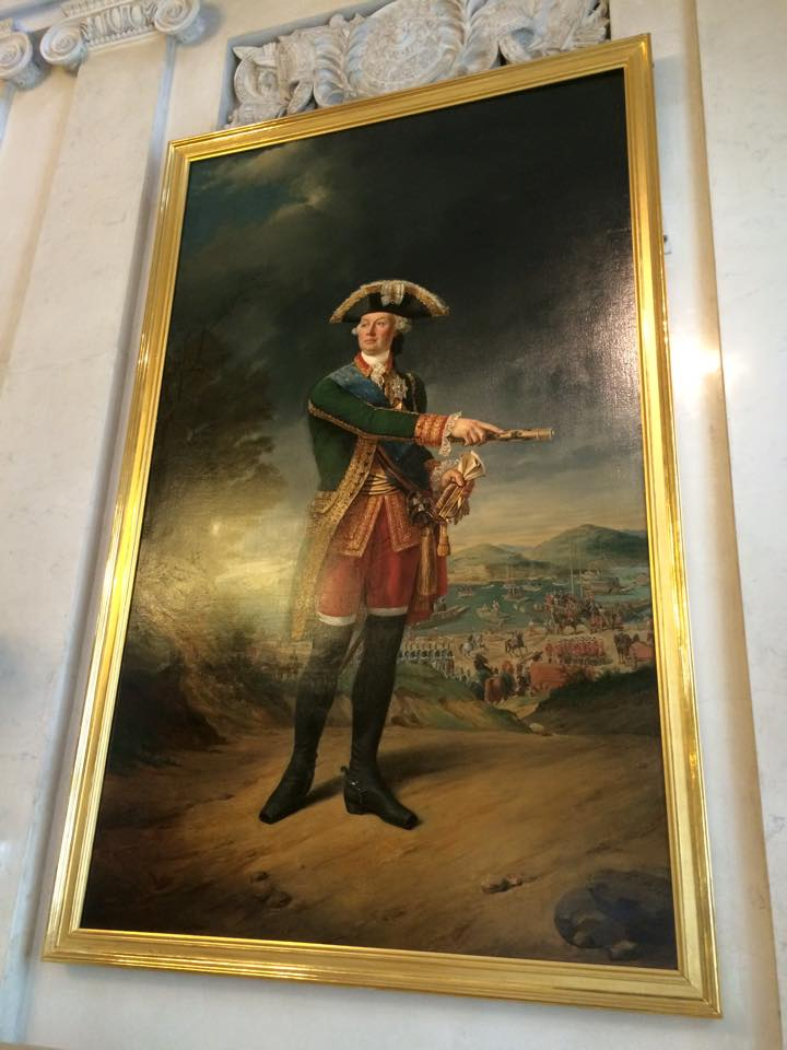 軍人の肖像画