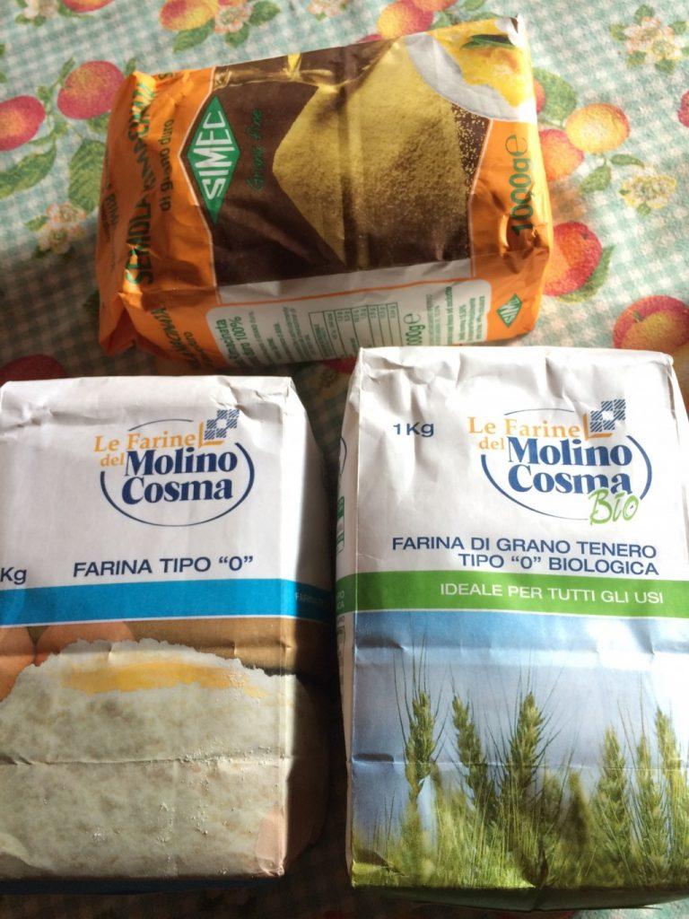 イタリアの小麦粉