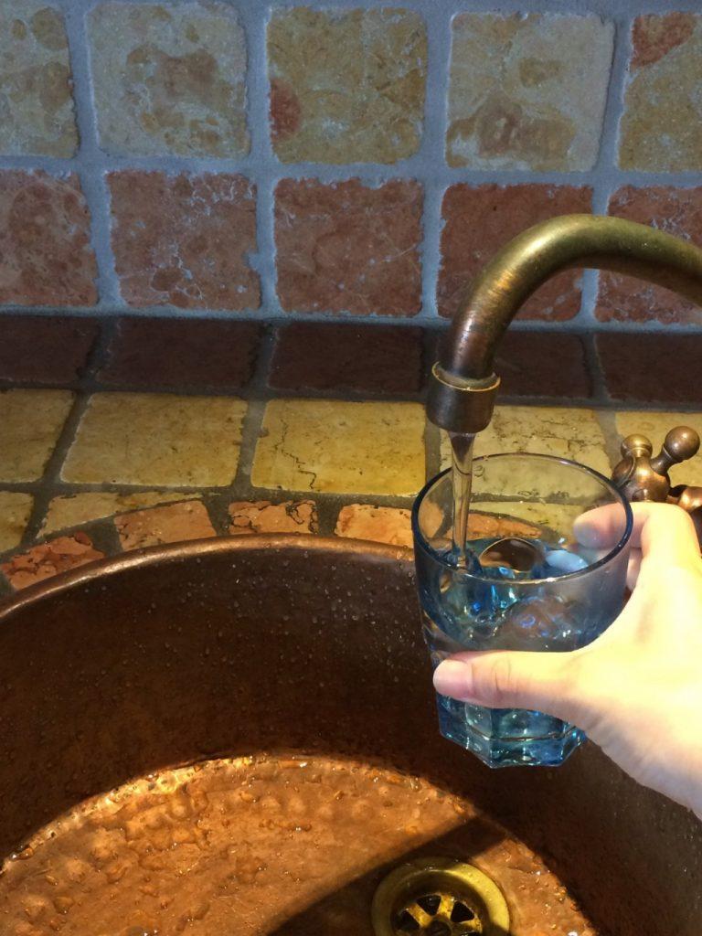 イタリアの水道水