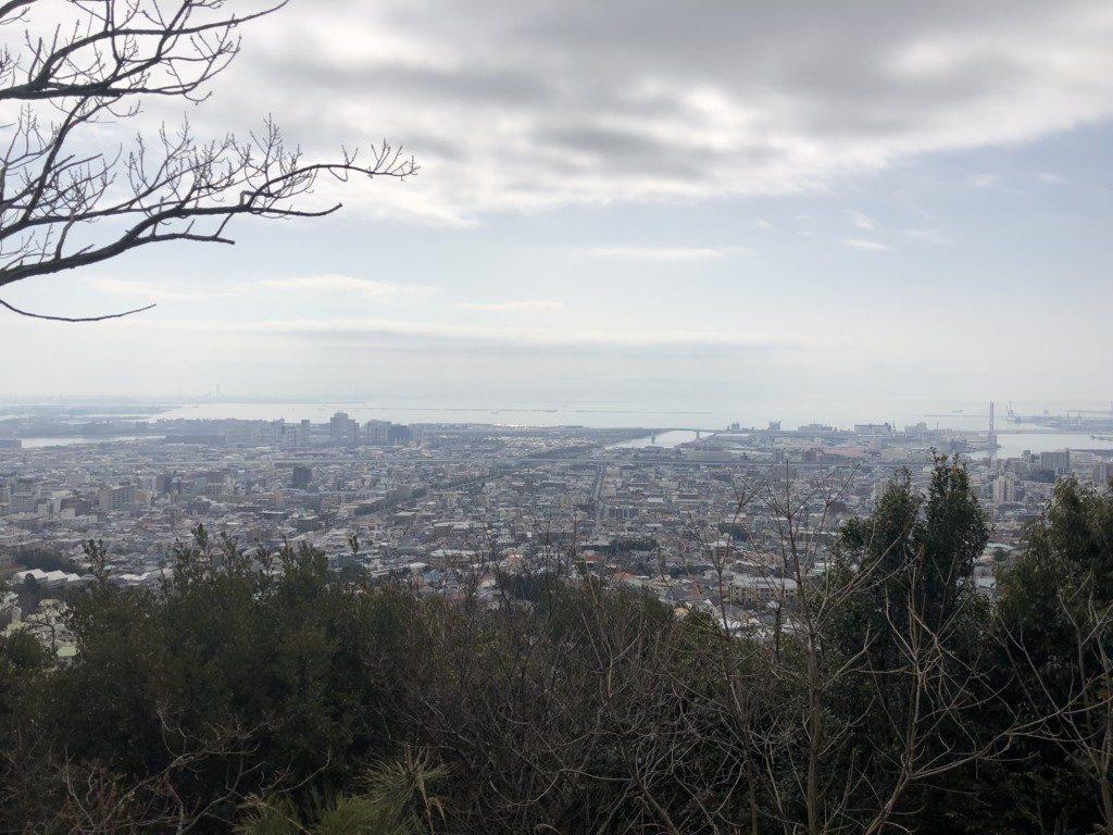 城山コースからの眺望