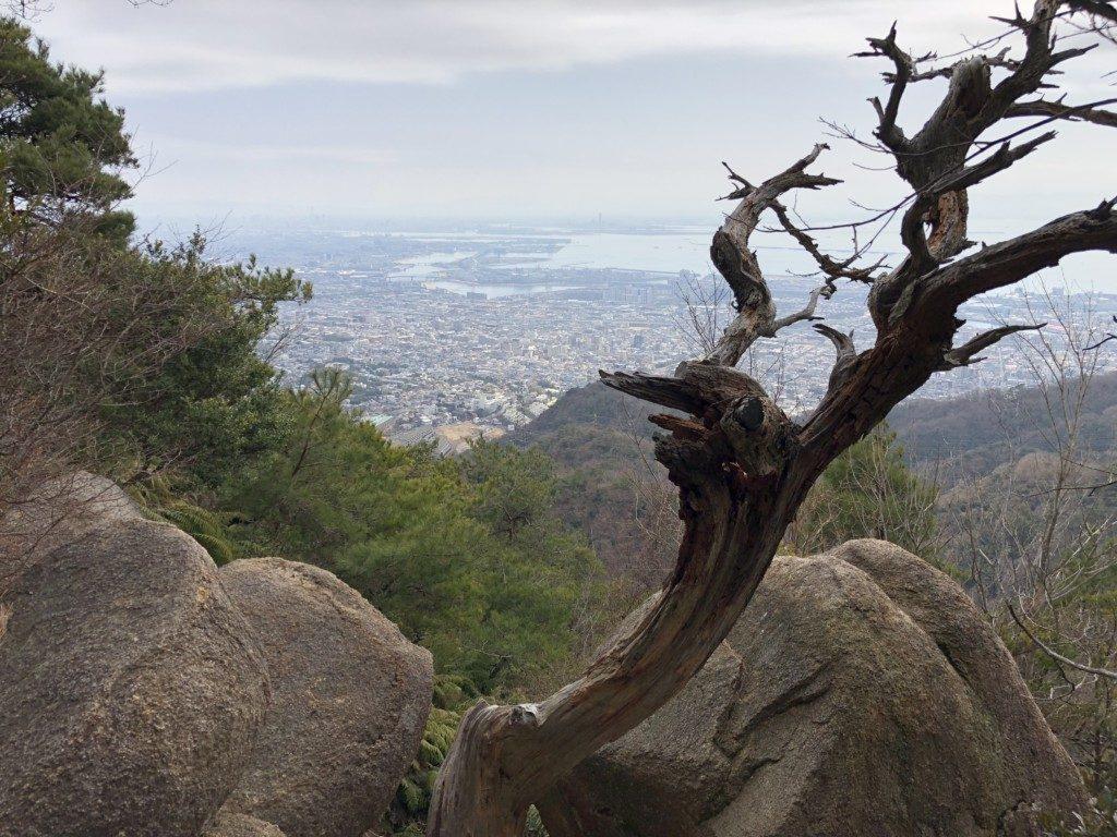岩梯子からの展望