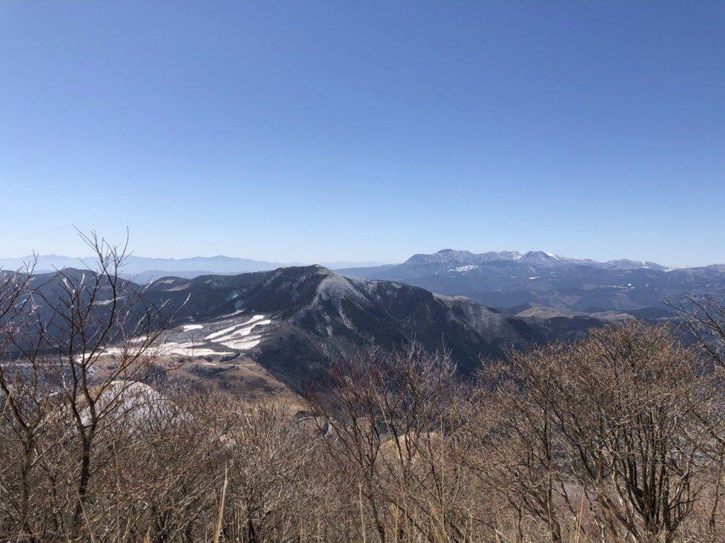 由布岳からの眺望