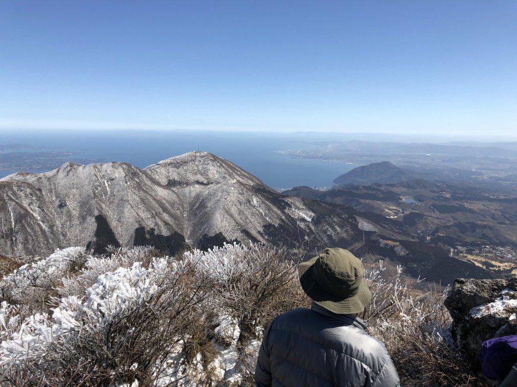 東峰山頂からの眺め