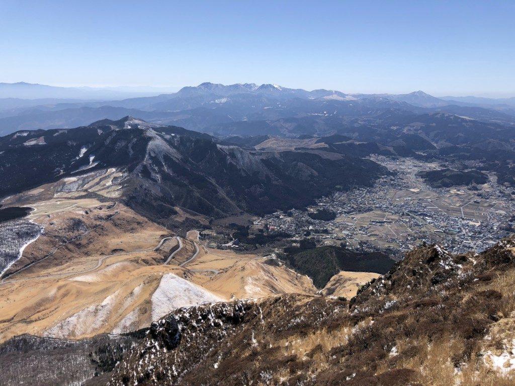 山頂からの大展望