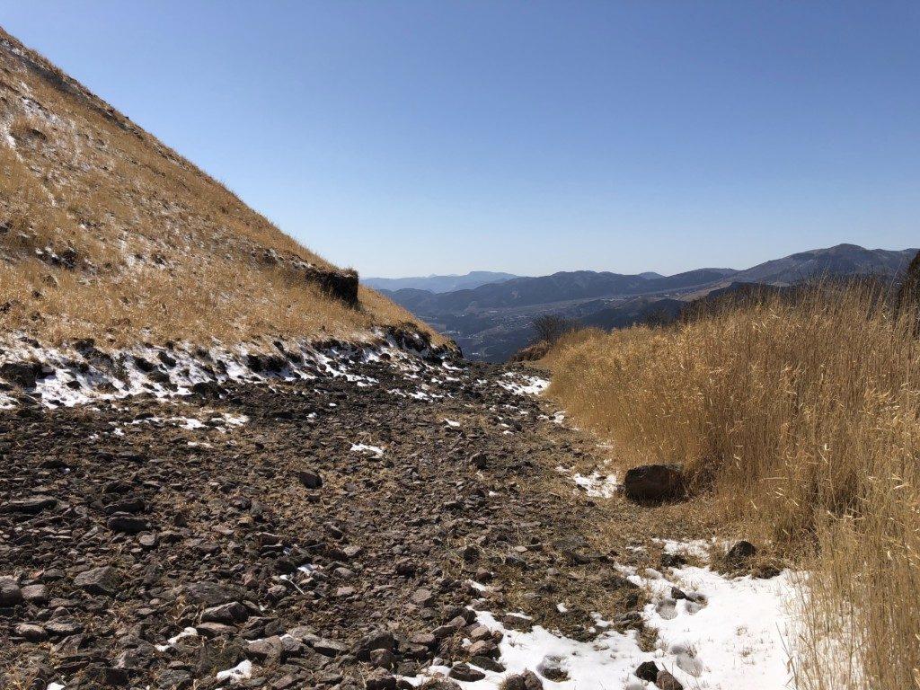 西登山口ルート