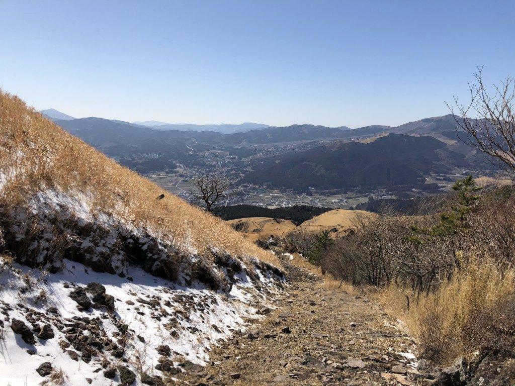 西登山口ルートその2