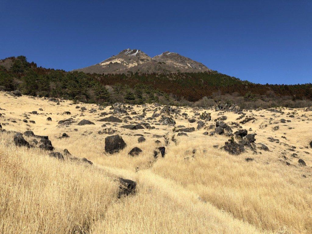 西登山口ルートの由布岳
