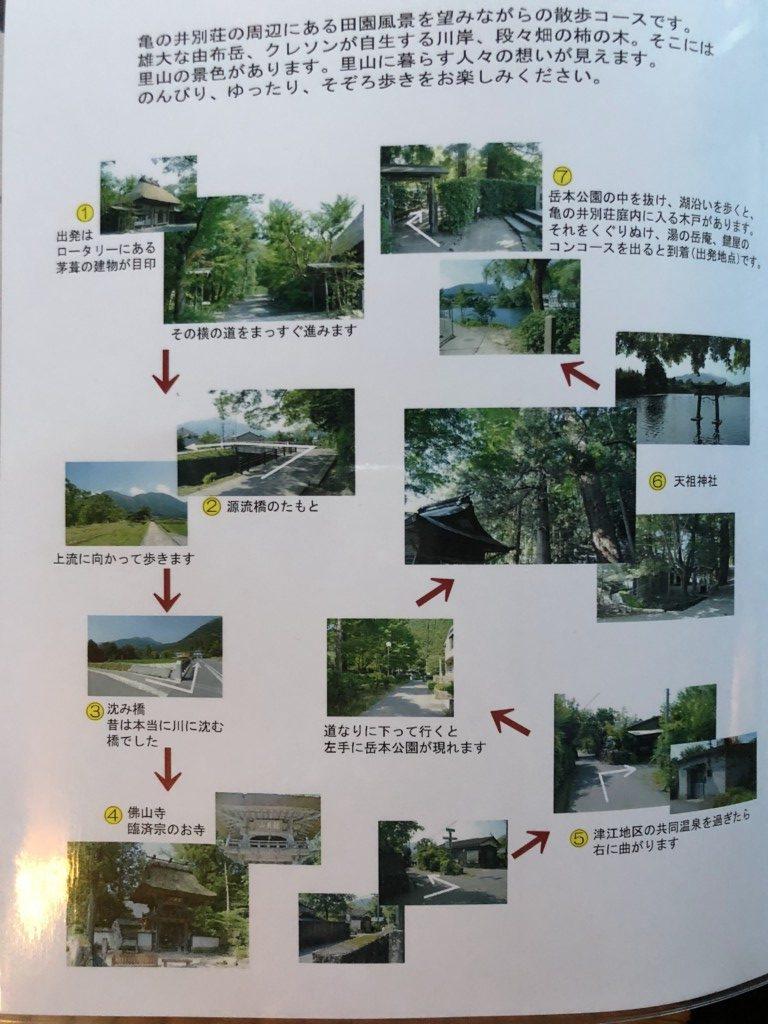 田園風景散歩コース