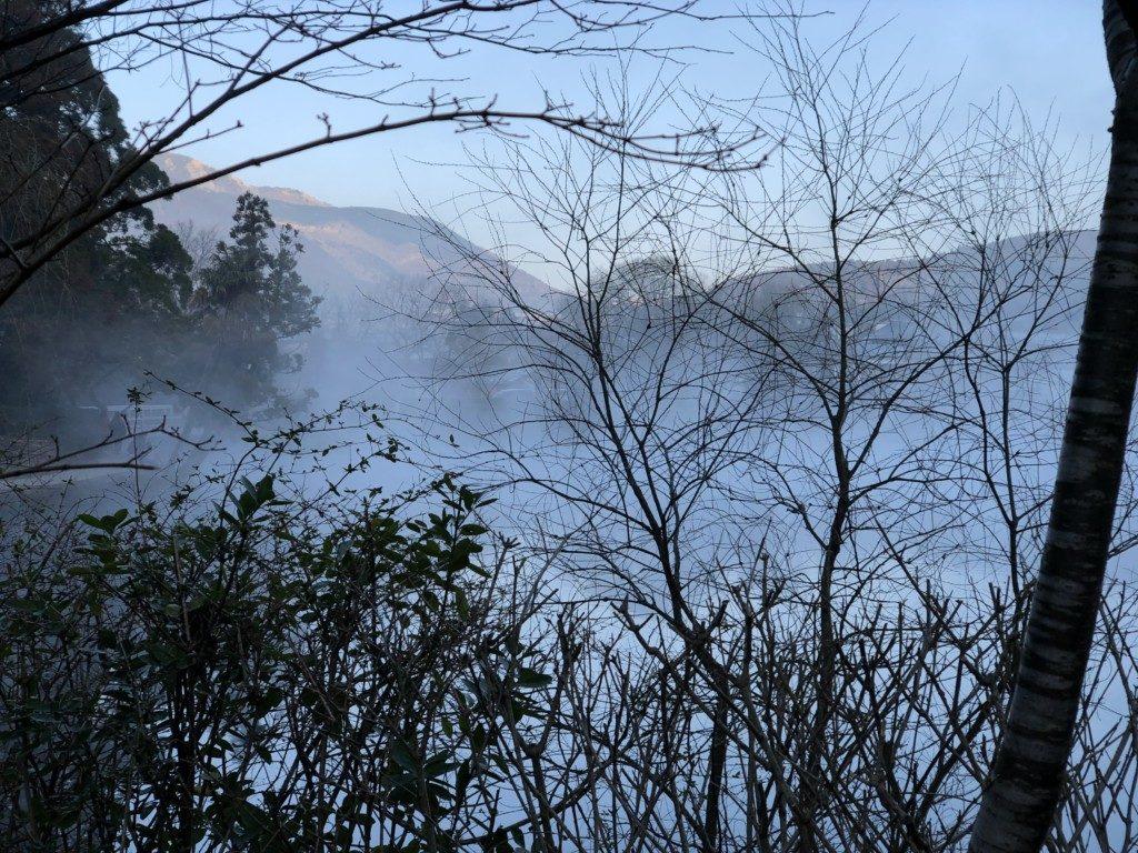 金鱗湖湖畔
