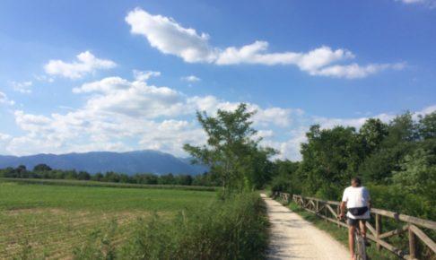 イタリアの田舎の風景