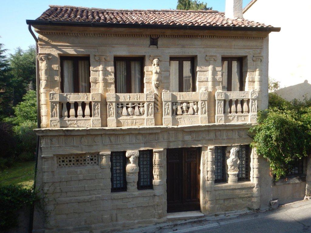 石作りの建物