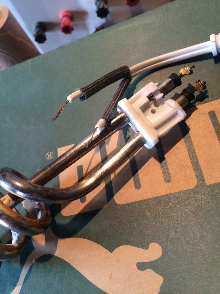 電気コイルを修理