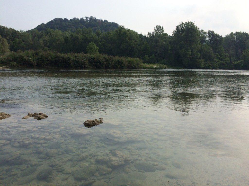 イタリアの河川敷