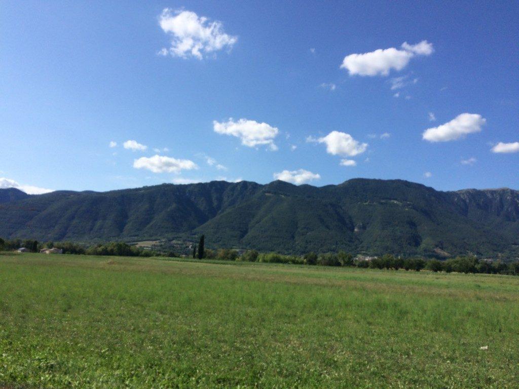 牧歌的なイタリアの田舎