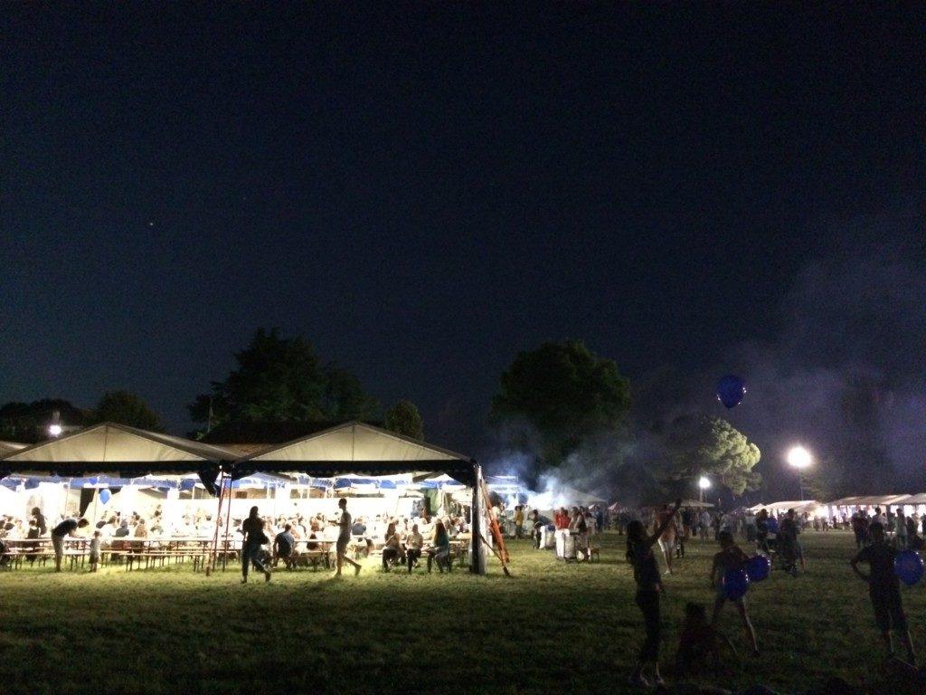 夜の音楽フェスティバル