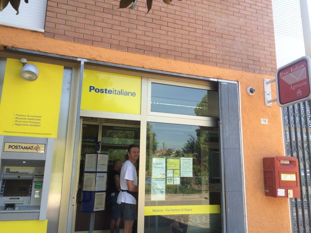 イタリアの郵便局