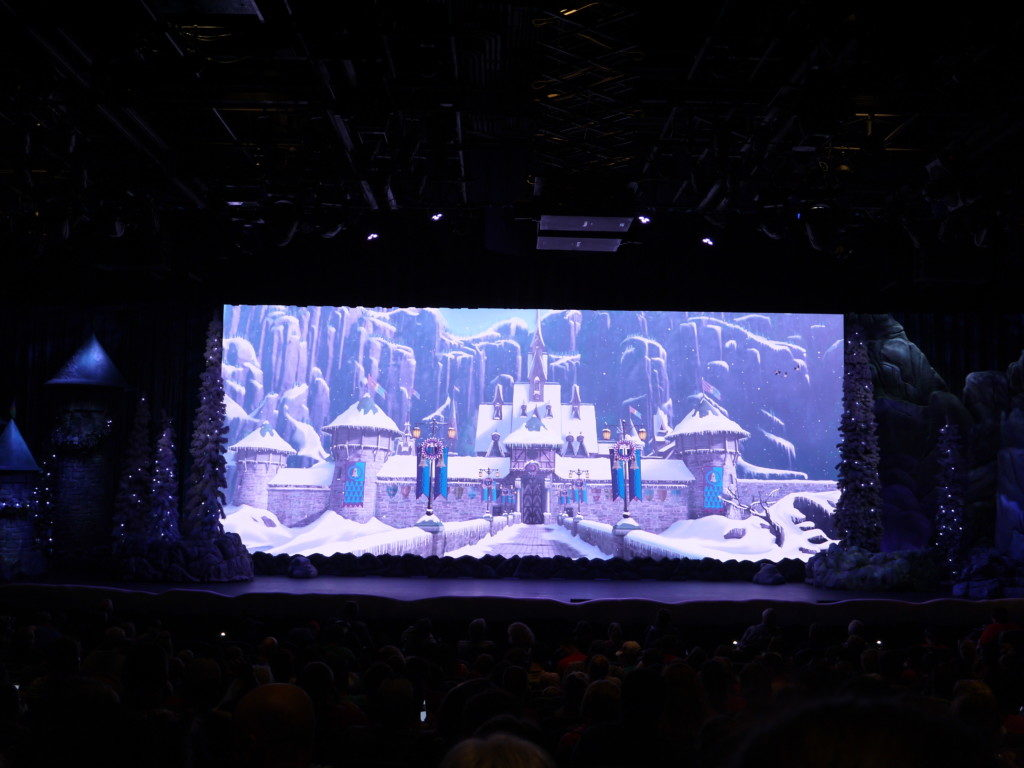 アナ雪のステージ