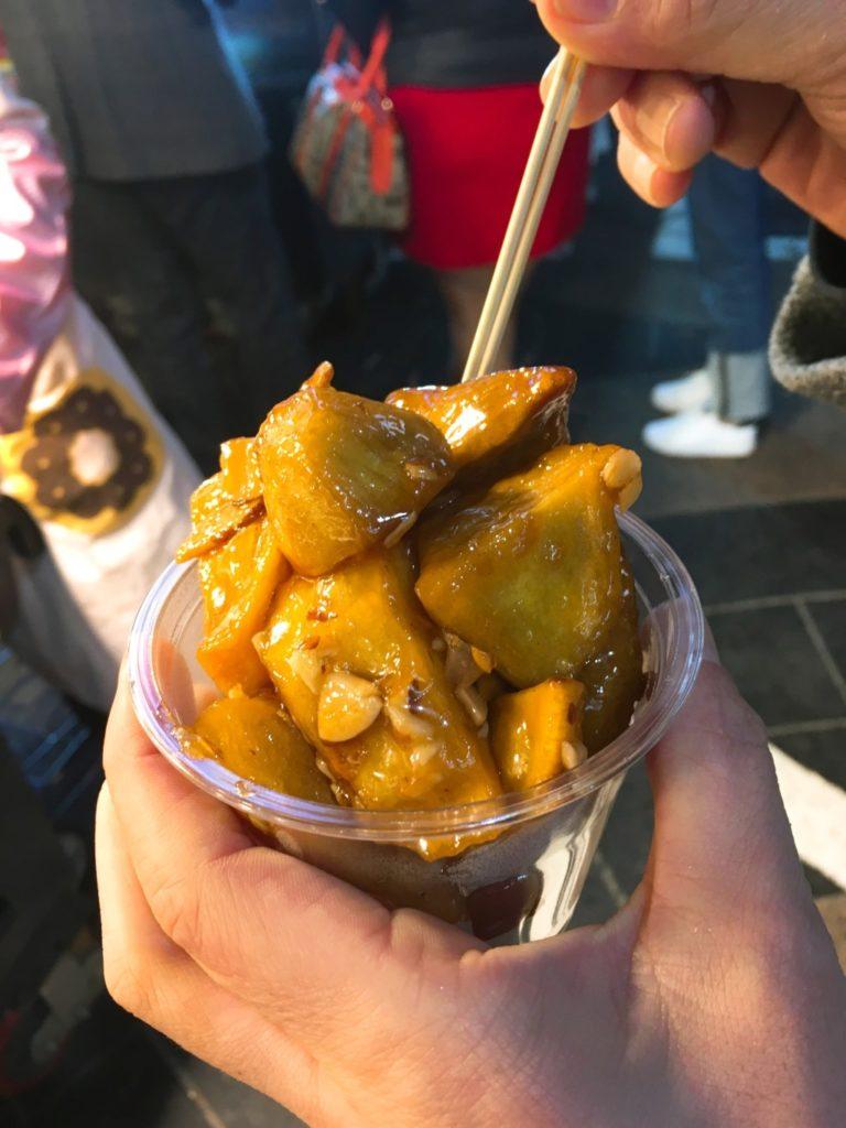 韓国の大学芋