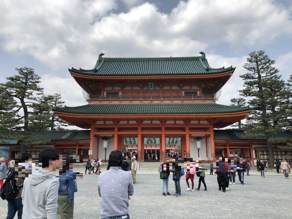 平安神宮の境内