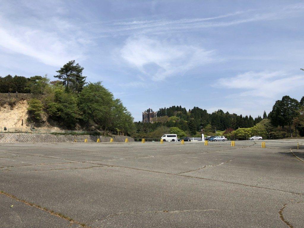 妙見山山上駐車場