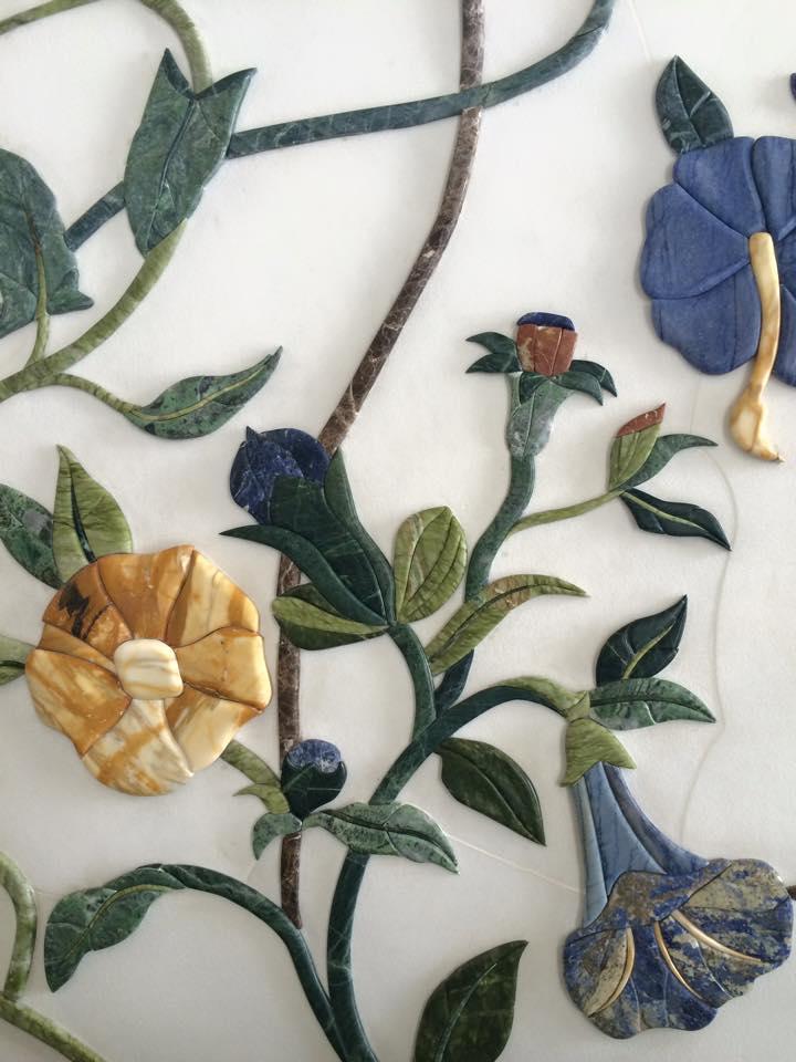 壁の装飾アップ