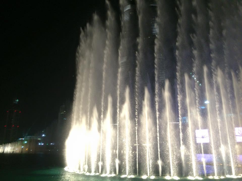 噴水ショーその3