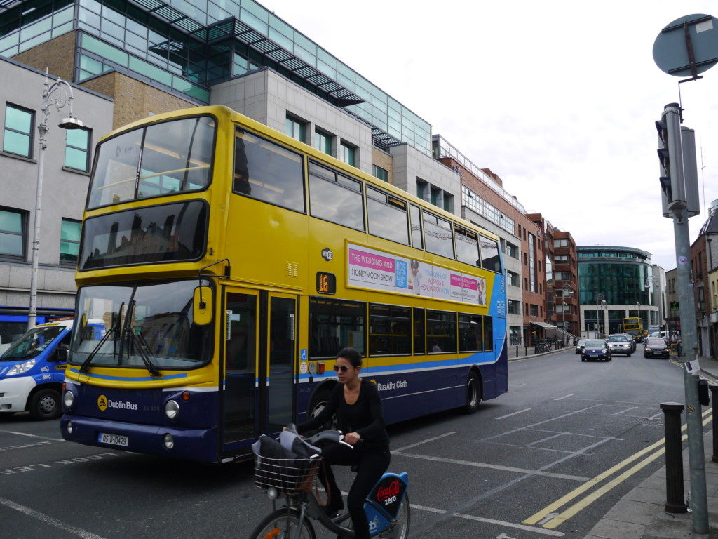 アイルランド_2階建バス