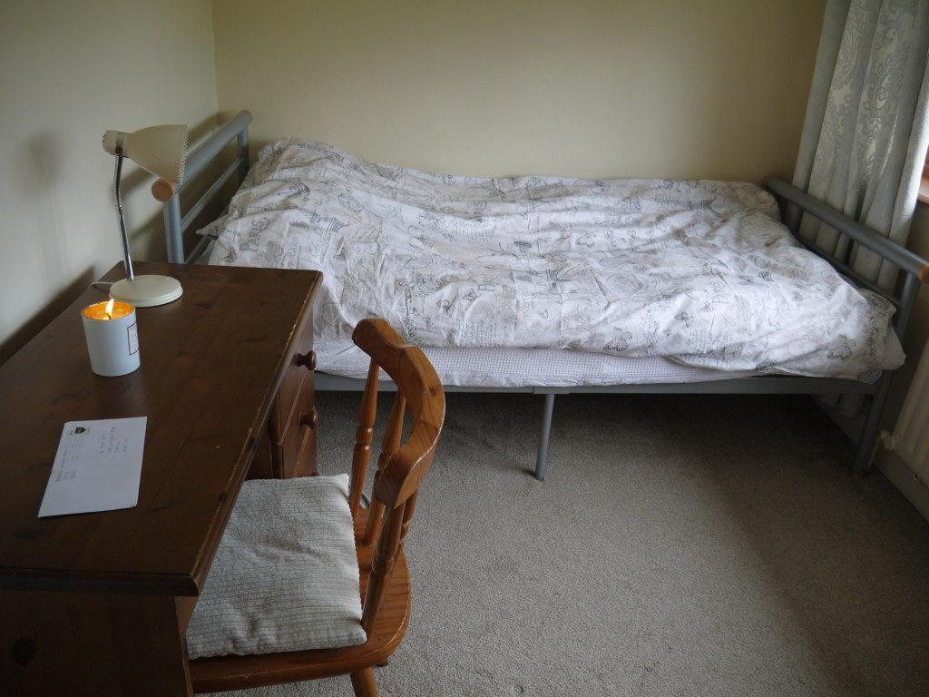 ホームステイの部屋