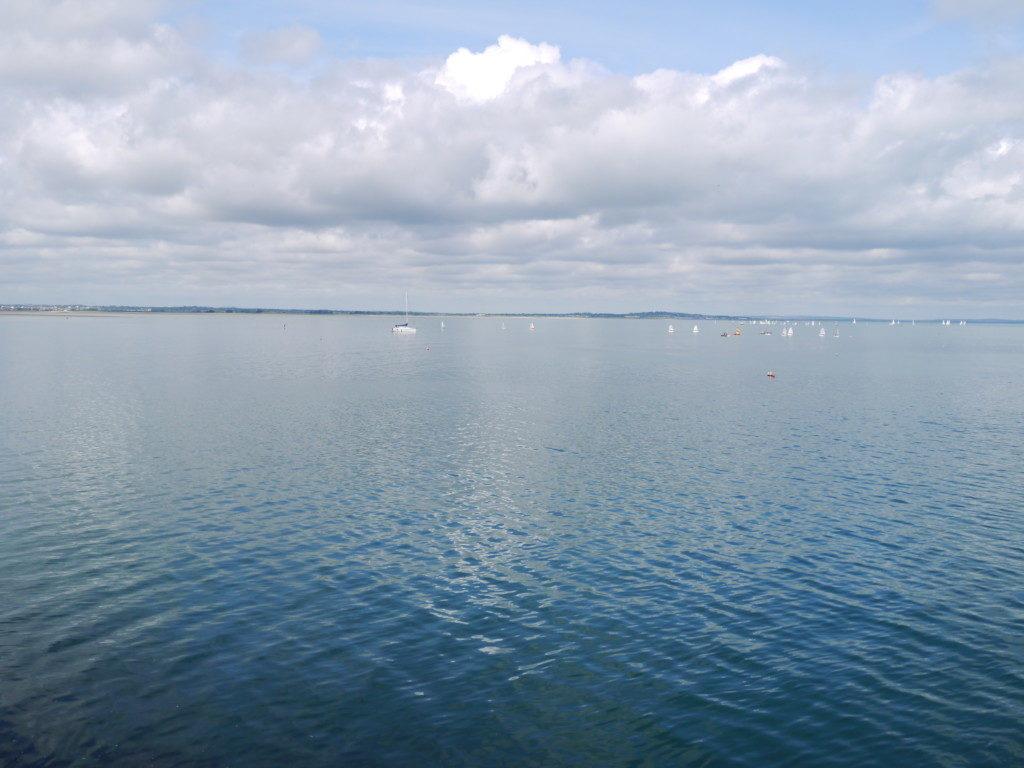ホウスの海沿い