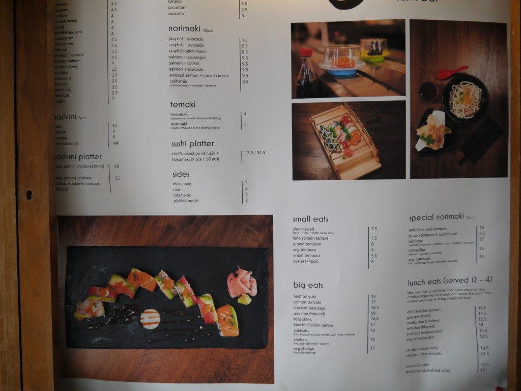 ゴールウェイの日本食レストラン