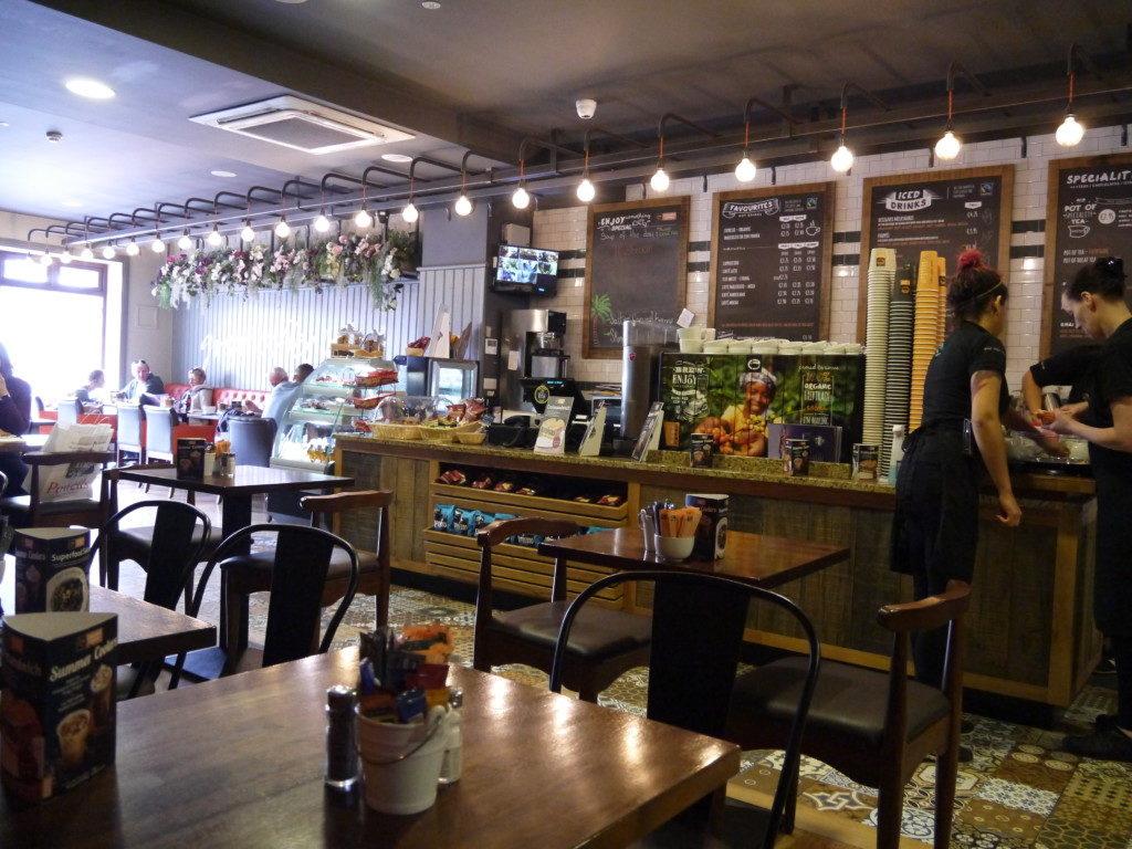 ゴールウェイのカフェ