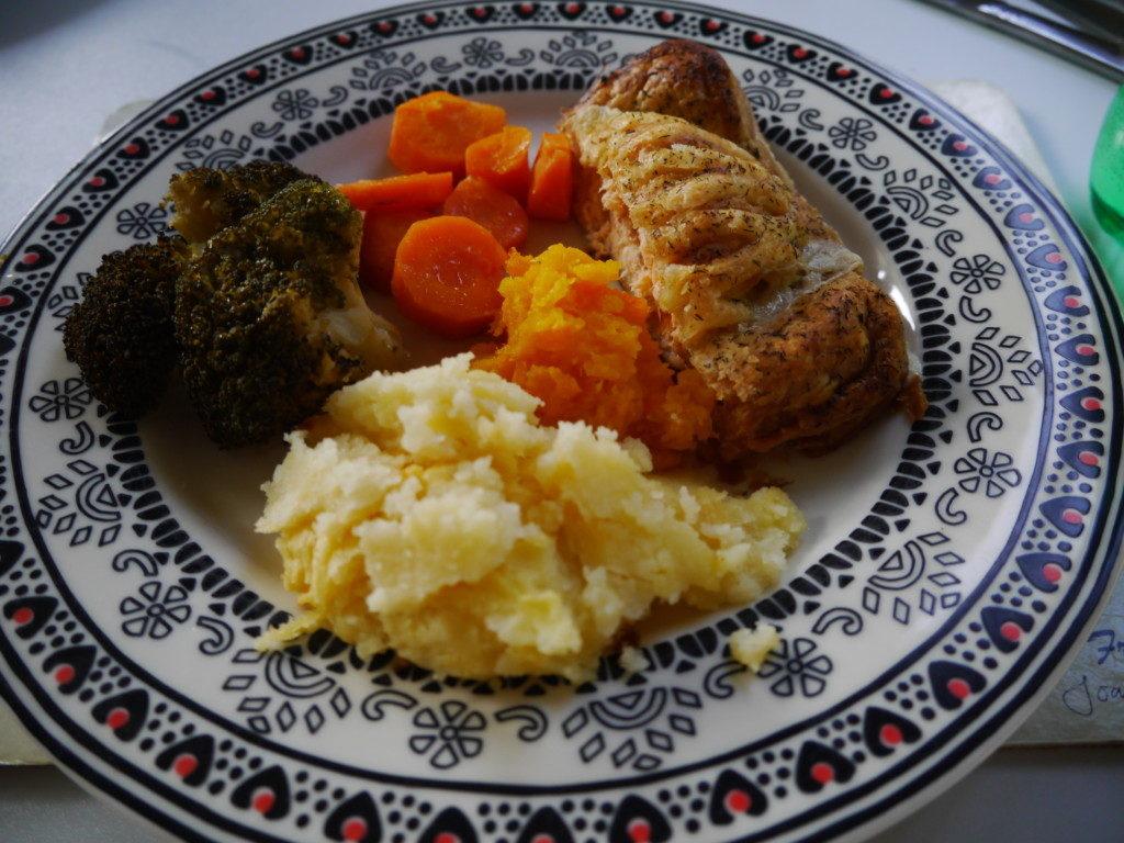 ホストマザーの夕食