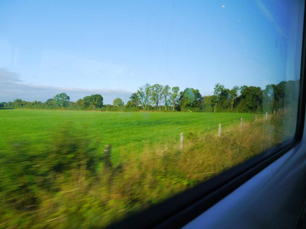アイルランドの車窓から