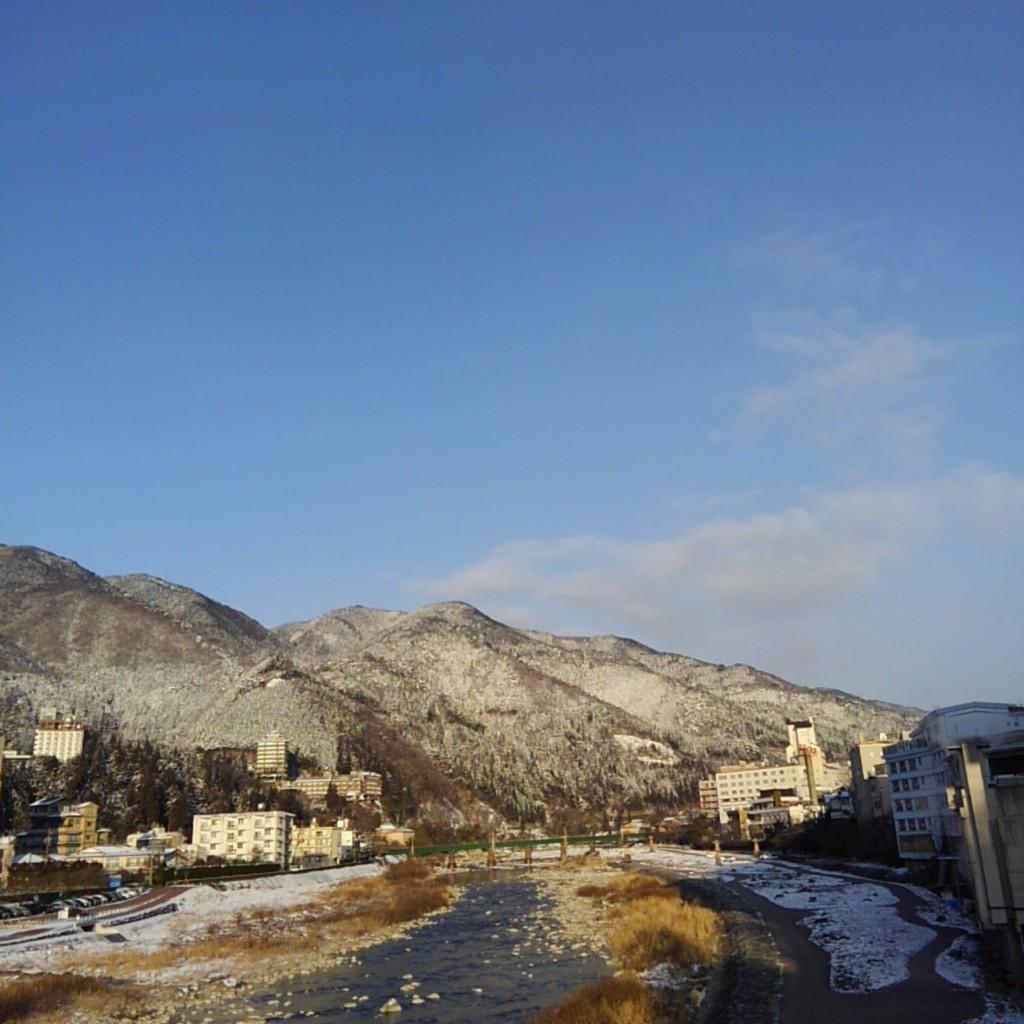 下呂大橋からの眺め