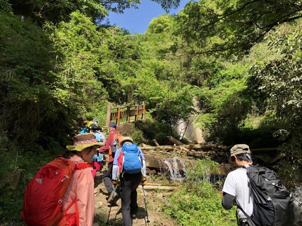 櫛羅の滝コースその3