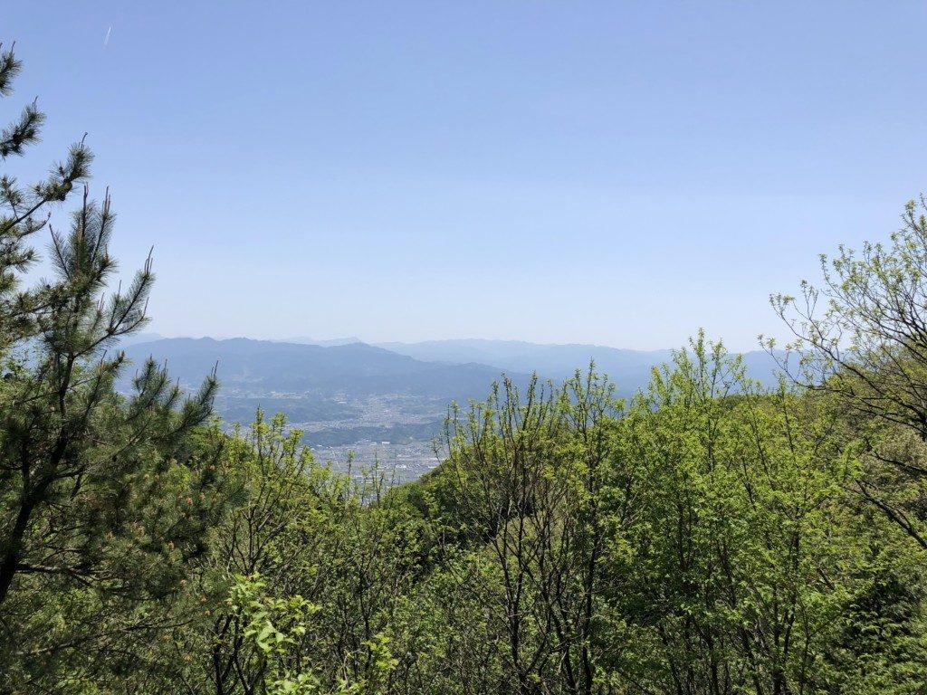 葛城山の眺望